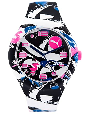 Puma Women Multicolour Silicone watch-PU103001022