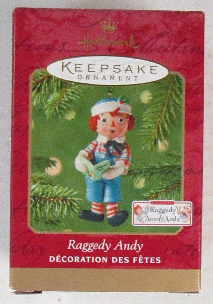 Hallmark Keepsake Ornament Raggedy Andy 2001