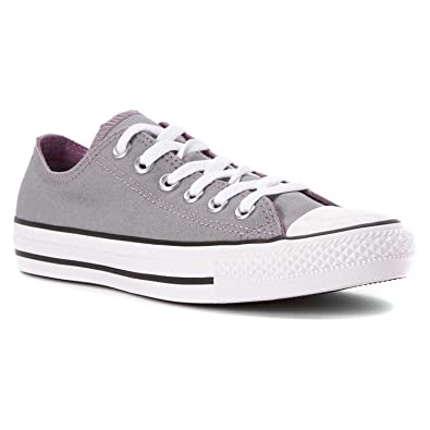 bab3318f5f6940 Converse Women s Chuck Taylor Double Tongue Low-Top Sneakers  Amazon ...