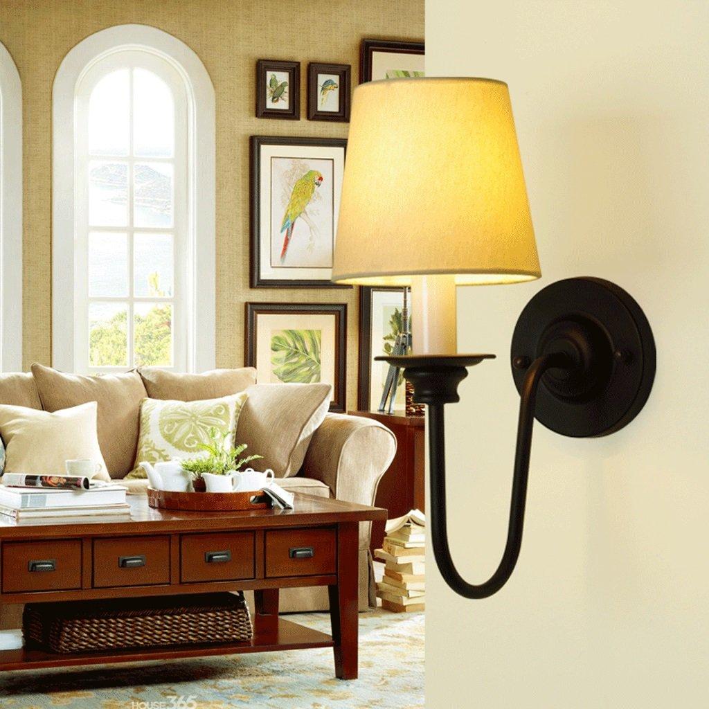 Amazon.com: Great St. DGF LED Iron Wall Lamp Bedside Bedroom Den ...