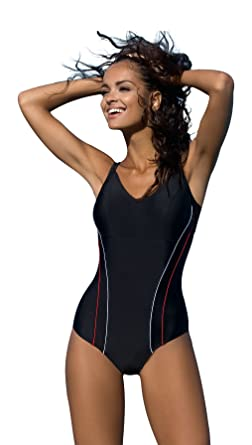 91e08ca3c8 Image Unavailable. Image not available for. Colour: Women's swimming  costume one piece swimsuit beach swimwear ...