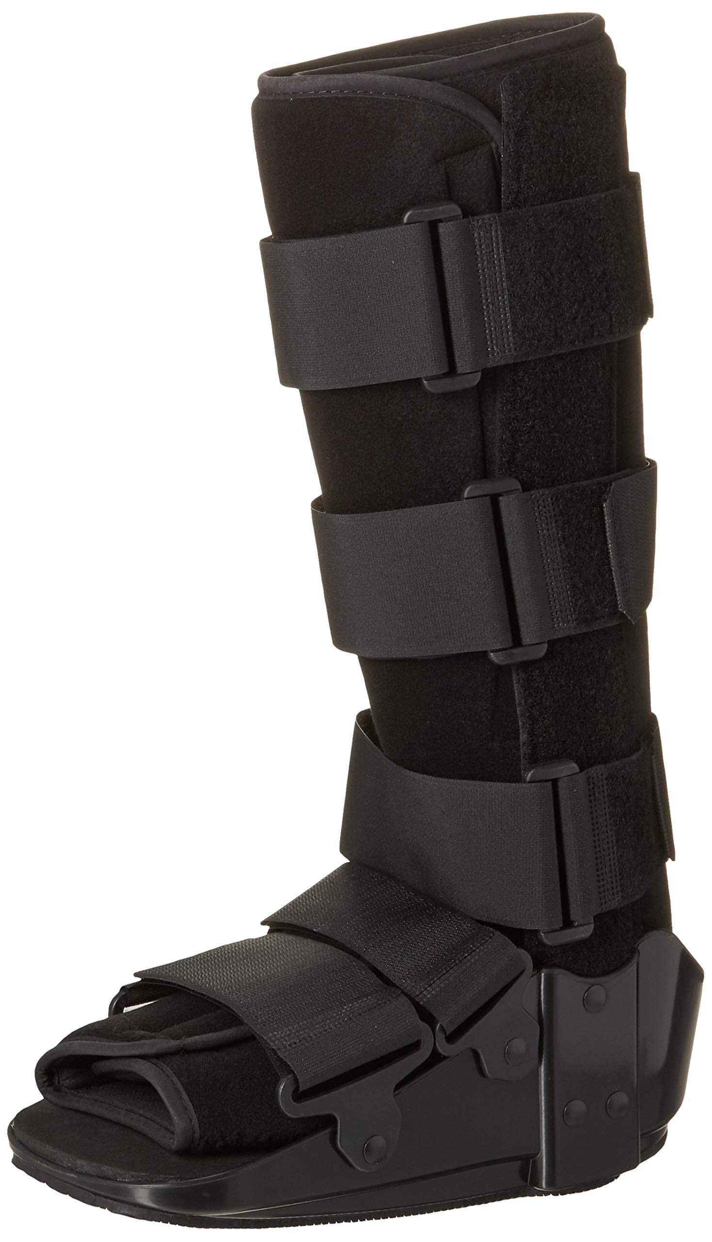 OTC Short Leg Cast High Top Walker Boot, Black, Small/Tall by OTC