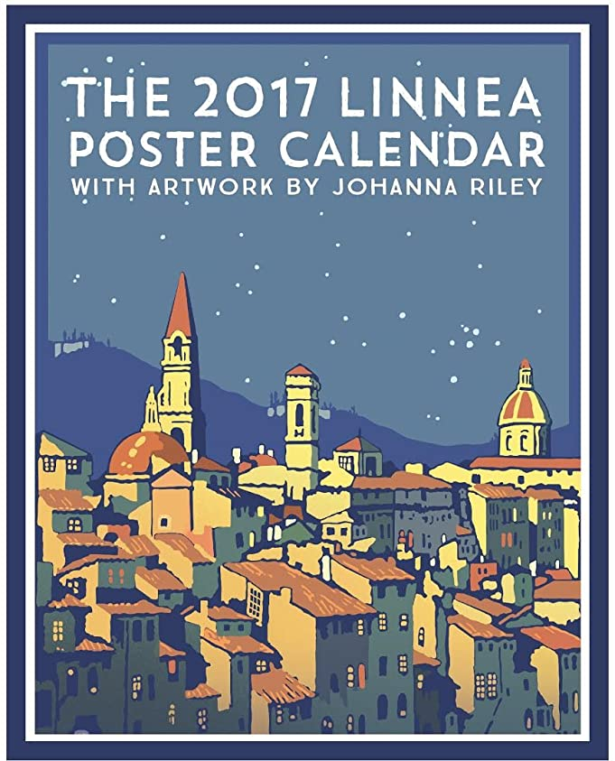 Amazon Linnea Design 2017 Poster Calendar Art By Johanna