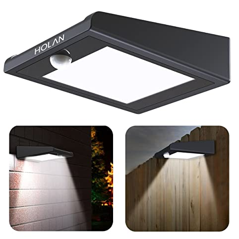【Upgraded Version】30 LED Solar Light,Holan Solar Powered Security Lights  Outdoor,