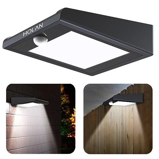 14 opinioni per 【Versione aggiornata】Luce Solare 30 LED con Sensore di Movimento, Holan Luci