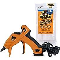 Gorilla Dual Temp Mini Hot Glue Gun Kit with 30 Hot Glue Sticks, (Pack of 1)