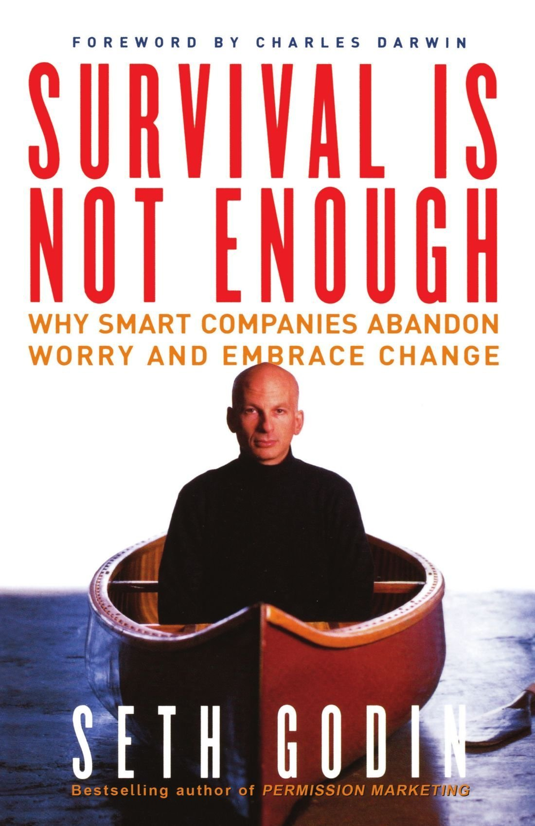 Read Online Survival Is Not Enough: Why Smart Companies Abandon Worry and Embrace Change ebook