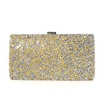 Elegante Bolso de Mano Fiesta para Mujer Clutch, Moda de las mujeres Elegante Glitter Sparkling