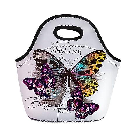 291ec6dfb6b1 Amazon.com: Lunch Bag Tote Handbag Picnic Box Luggage for Women Men ...