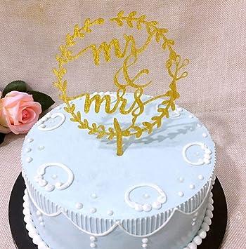 Decoration Gateau Figurine Gateau Cupcake Pour Anniversaire Mariage Fete Cake Topper Mr Mrs