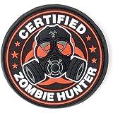 Zombie Hunter certificado PVC parche de Velcro de Airsoft