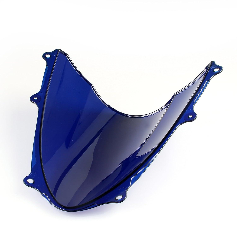 Areyourshop Windshield WindScreen Double Bubble For Suzuki GSXR 1000 2009-2016 K9