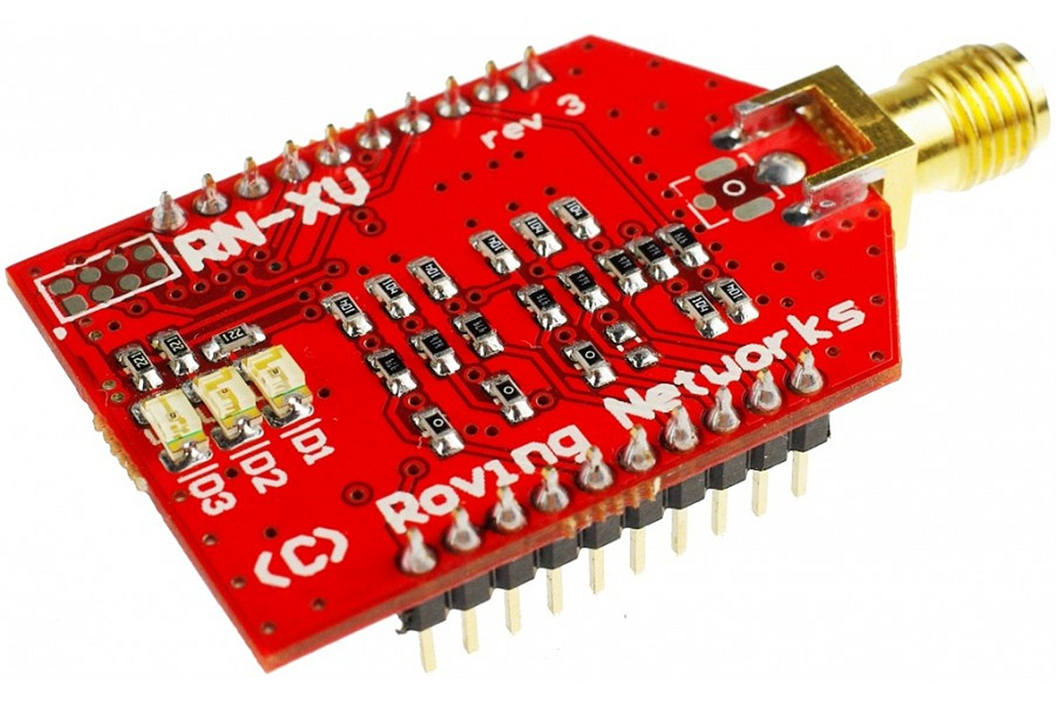 RN-XV Wifly Module - SMA Connector/Based On Common 802.15.4 Xbee Footprint/Ultra Low Power: 4ua Sleep Mode, 38ma Active by D&F
