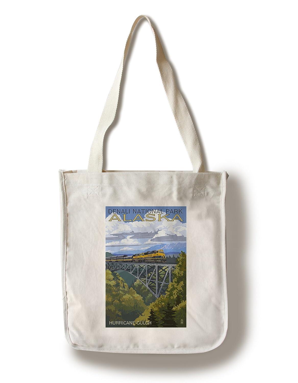 素敵な デナリ国立公園 Canvas、アラスカ – ハリケーンGulch Sign 10 Bag x 15 Wood Sign LANT-42440-10x15W B01841MLE4 Canvas Tote Bag Canvas Tote Bag, ハッピーMD:f9aa8166 --- ciadaterra.com