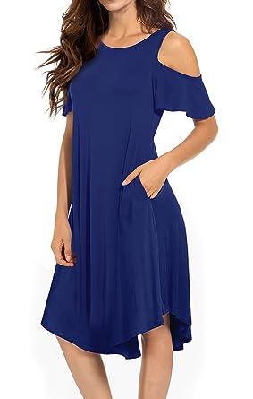 Royal Blue Swing Dress