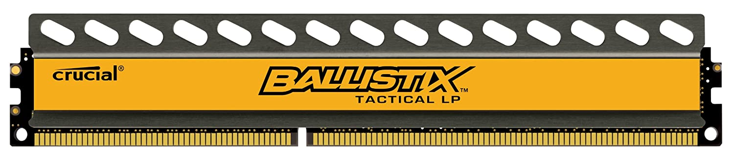 Crucial Ballistix Tactical Low Profile 4GB Single DDR3-1600 1.35V UDIMM 240-Pin Memory Module BLT4G3D1608ET3LX0