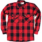 [ビッグビル] BIGBILL BRAWNY FLANNEL HEAVY WEIGHT SHIRT USA製 ネルシャツ