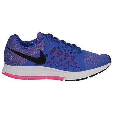 Nike Womens Zoom Pegasus 31 Hyper Cobalt/Black/Hyper Pink RunningShoe