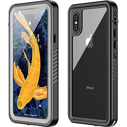 Iphone X Waterproof Case Iphone Xs Waterproof Case Oterkin Full Body Rugged 360 Protective Shockproof Dirtproof Sandproof Ip68 Underwater Waterproof