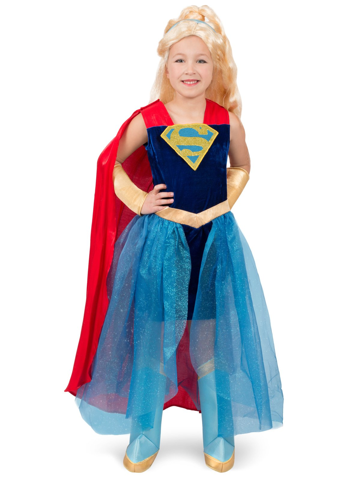 - 71zewow 2Bo6L - Princess Paradise DC Super Hero Girls Supergirl Formal Dress