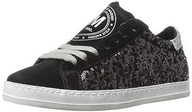 Steve Madden Women's Florence Fashion Sneaker, Black/Multi, ...