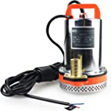 BACOENG DC 12V Farm & Ranch Solar Water Pump Submersible Well Pump 26ft Lift