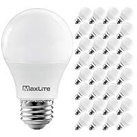 32-Pk MaxLite A19 LED Bulb Enclosed Fixture Rated 60W Equivalent Deals