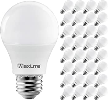 32-Pack MaxLite Enclosed Fixture Rated 60W A19 LED Bulb