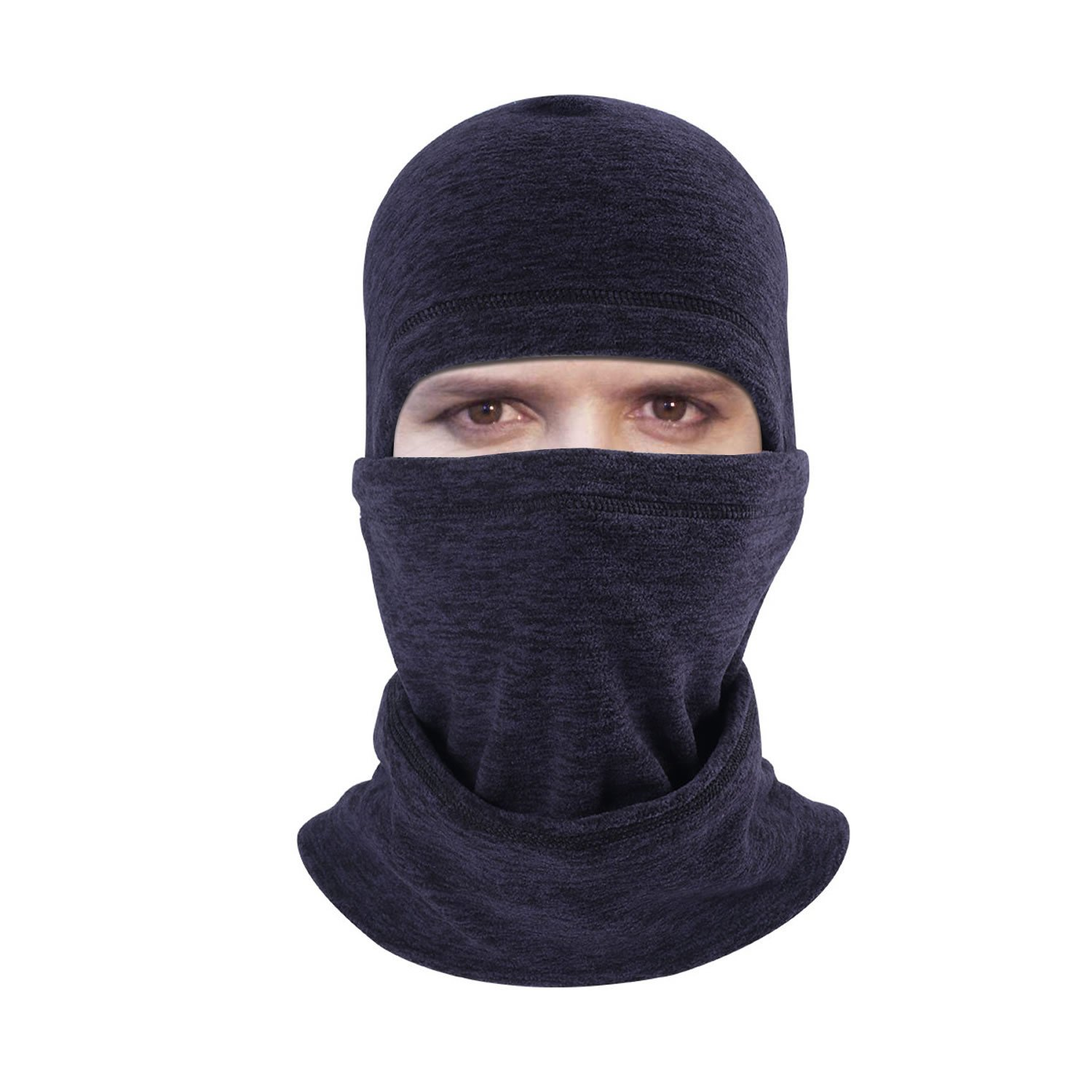 Balaclava - Windproof Ski Mask - Face Mask Motorcycle Neck Warmer Tactical Balaclava Hood - Ultimate Thermal Retention Cycling
