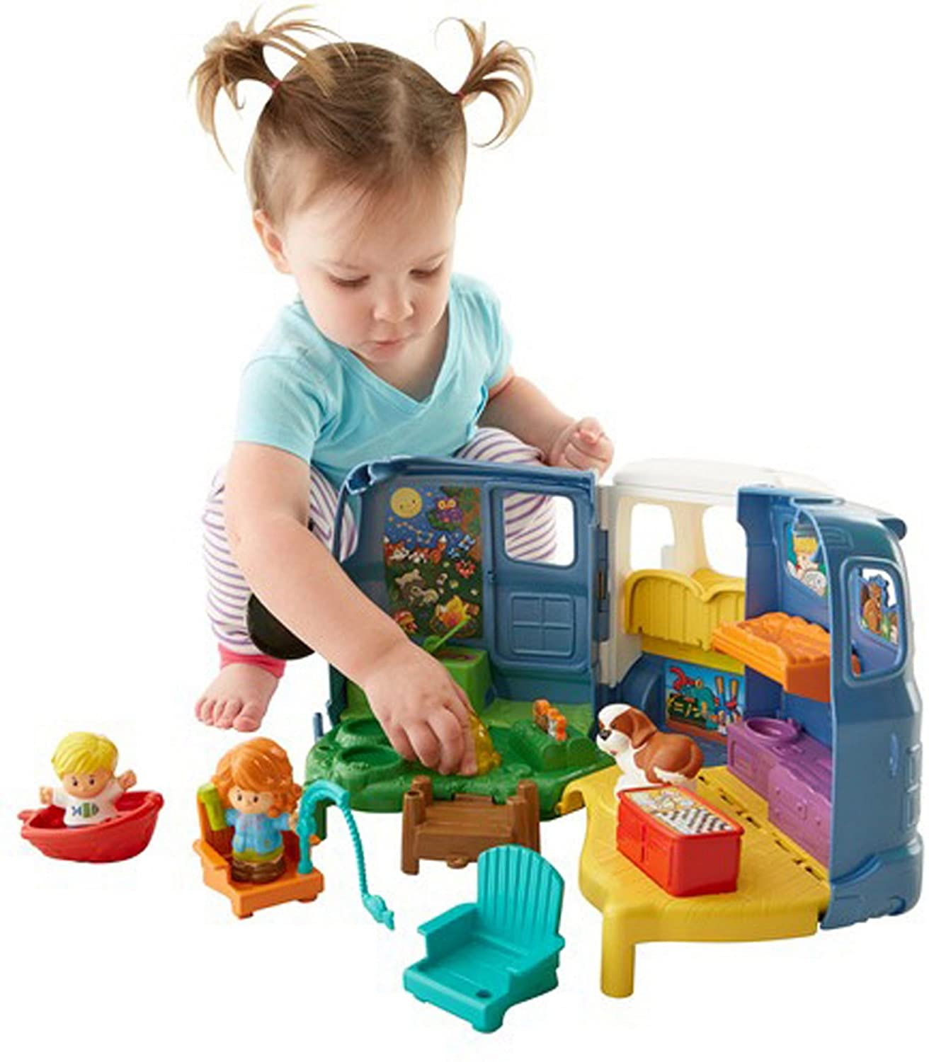 Amazon Fisher Price Little People Songs & Sounds Camper Toys