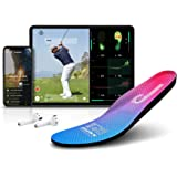 Salted Smart Insole with Golf for Android and iOS, IoT Wearable Device, IP68 Waterproof, Magnetic Charger and 5 Sizes