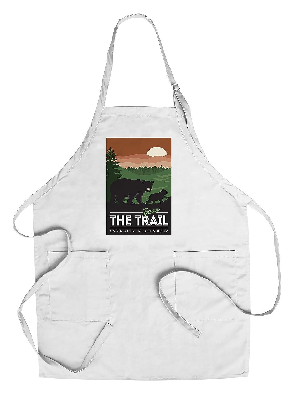 【在庫有】 Yosemite California – California Apron Bear The Chef's Trail Canvas Tote Bag LANT-85128-TT B078PX9TF8 Chef's Apron Chef's Apron, 腕時計アパレル雑貨小物のSP:f5d640a2 --- irlandskayaliteratura.org