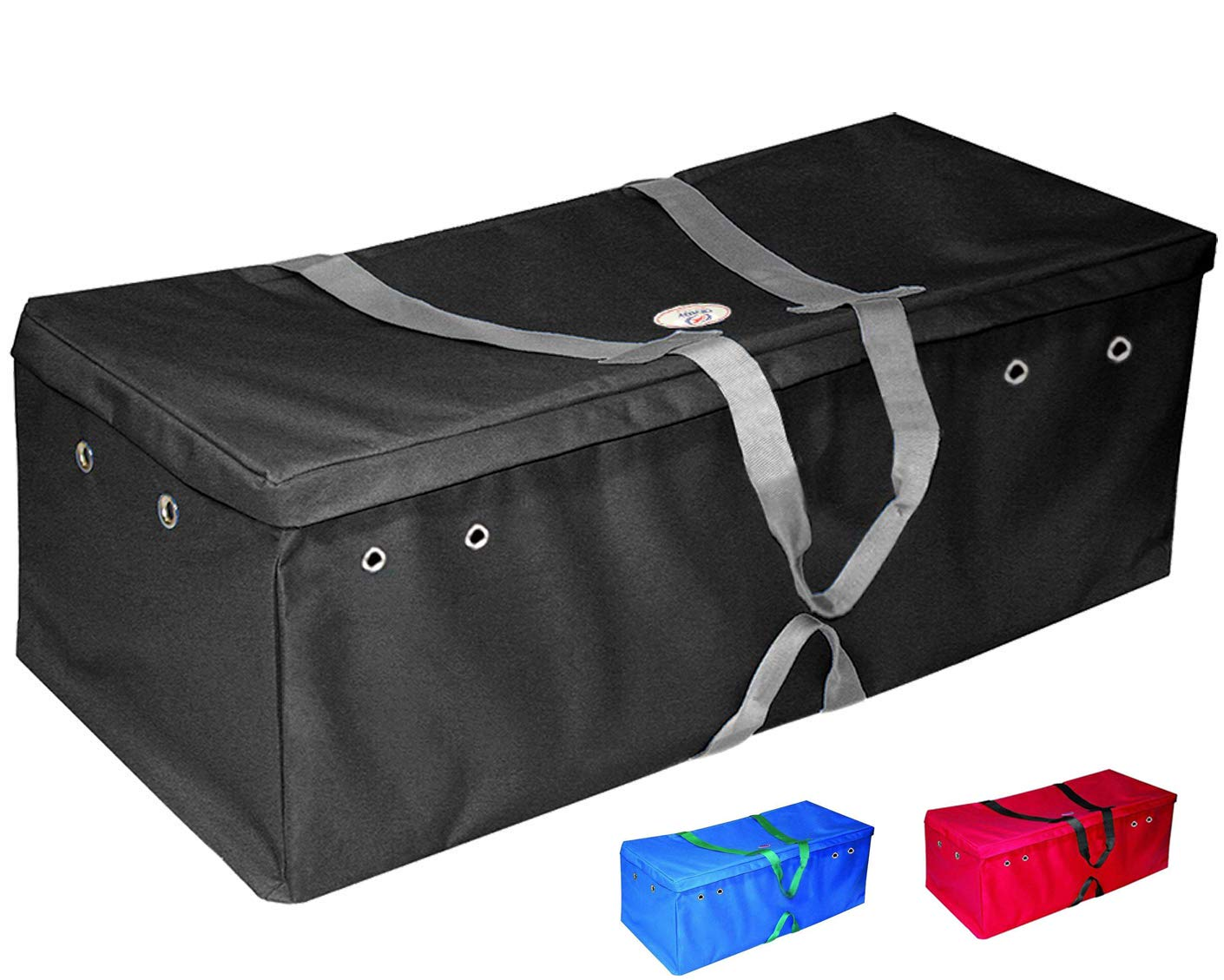 Derby Originals California Three String XXL Nylon Bale Carry Bag (Black) by Derby Originals
