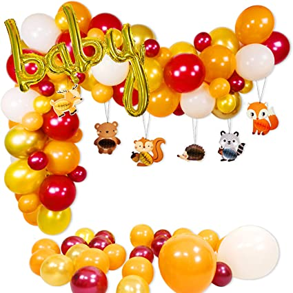 36 Large Squirrel Foil Balloon Woodland Party Supplies Woodland Balloons Woodland Party Decor Woodland Theme babayshower