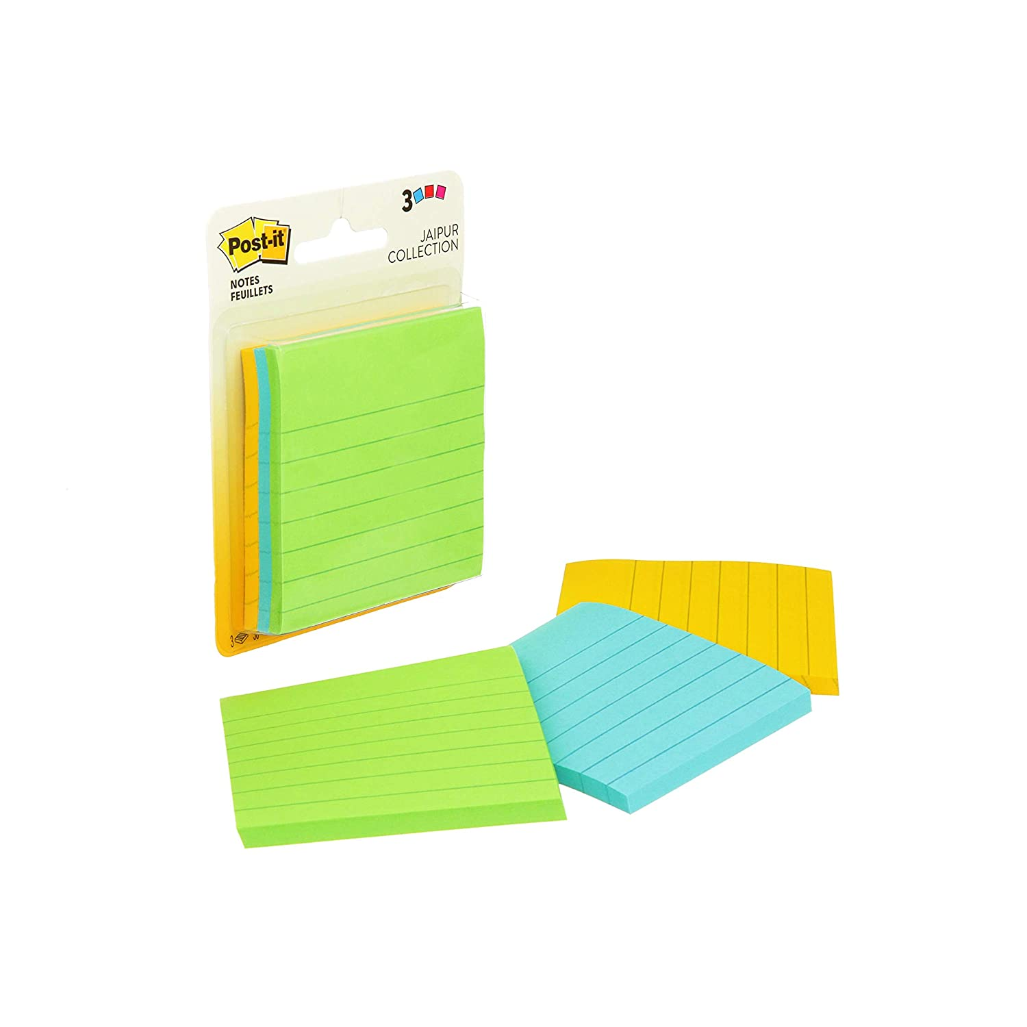 3 in x 5 in Post-it Notes Cape Town Coll... America's #1 Favorite Sticky Note