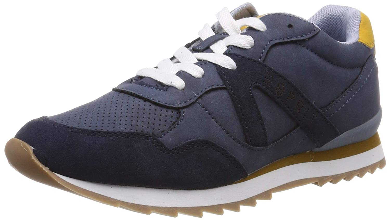 bluee (Navy 400) ESPRIT Women's Astro Lu Low-Top Sneakers