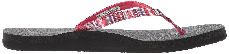 Sanük Damen Zehentrenner Raspberry Flip Flops Yoga Joy Funk Raspberry Zehentrenner Lanai Blanket ffc167