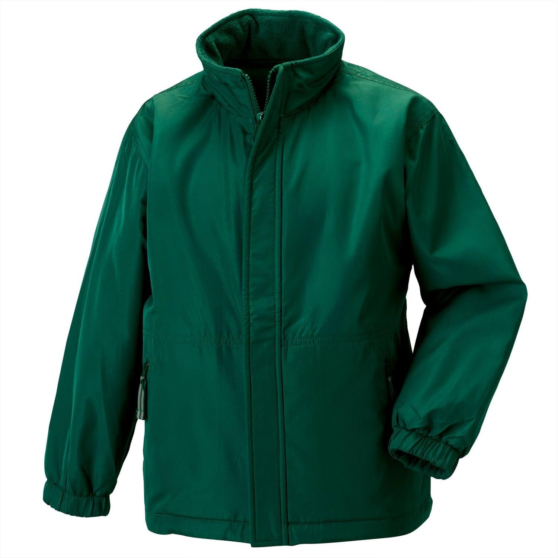 Jerzees Schoolgear Kid's Reversible School Jacket - Bottle Green - 56