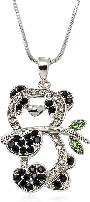 Womens Fashion Cute Green Crystal Rhinestone Bunny Charm Bracelet