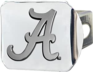 FANMATS14978NCAA University of Alabama Crimson Tide Chrome Hitch Cover