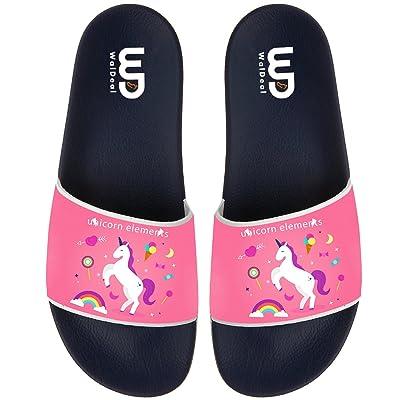 Unisex Unicorn Element Flip Flop House Athletic Sandal For Walking House