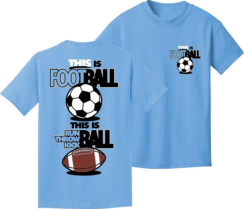 Soccer Tシャツ:これはフットボール B00V3JR8I4カロライナブルー Adult Large