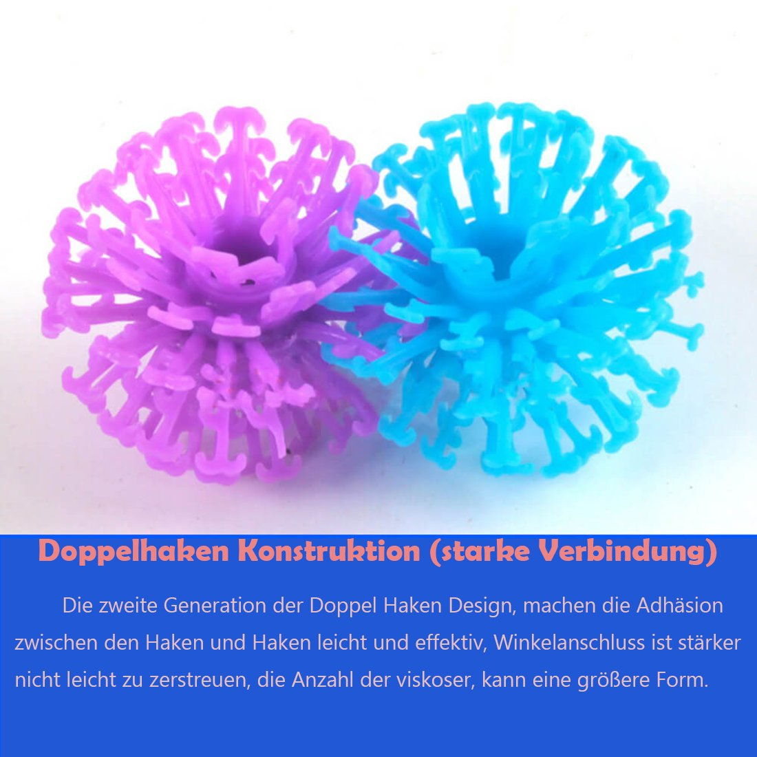 Enshey Bausteine Spielzeug für Kinder, Mega Pack kreative Modell zufällige für Kinder erhöht die Kapazität zu schaffen und stellen Sie sich vor - 400 Teile Puzzleball Pompon von