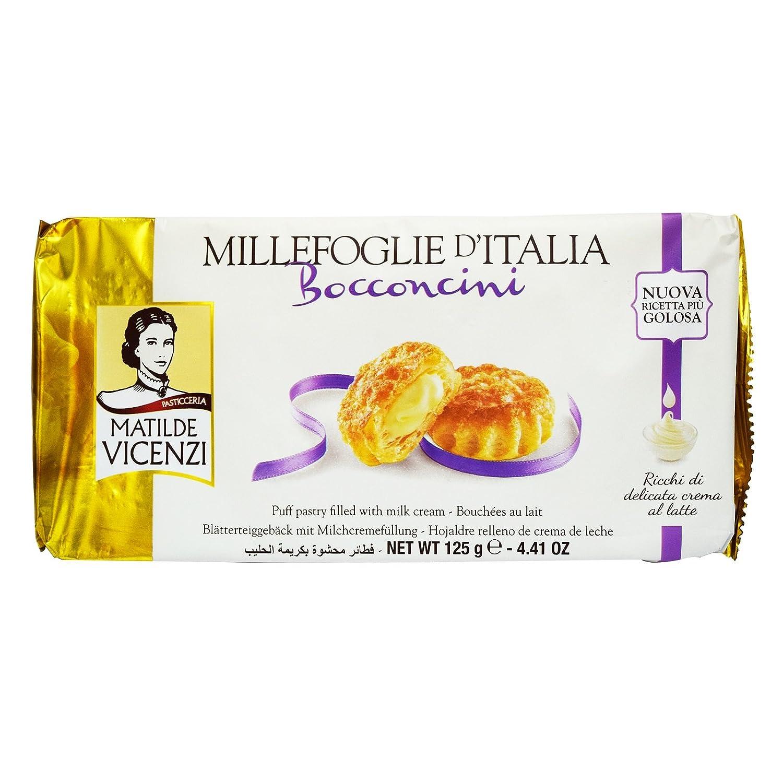 Matilde Vicenzi, Dulce de azúcar (Hojaldres, Leche) - 3 de 125 gr. (Total 375 gr.): Amazon.es: Alimentación y bebidas