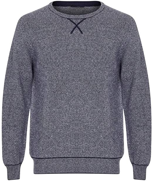 Lona Scott Mens Jaquard 100% Cashmere Sweater at Amazon