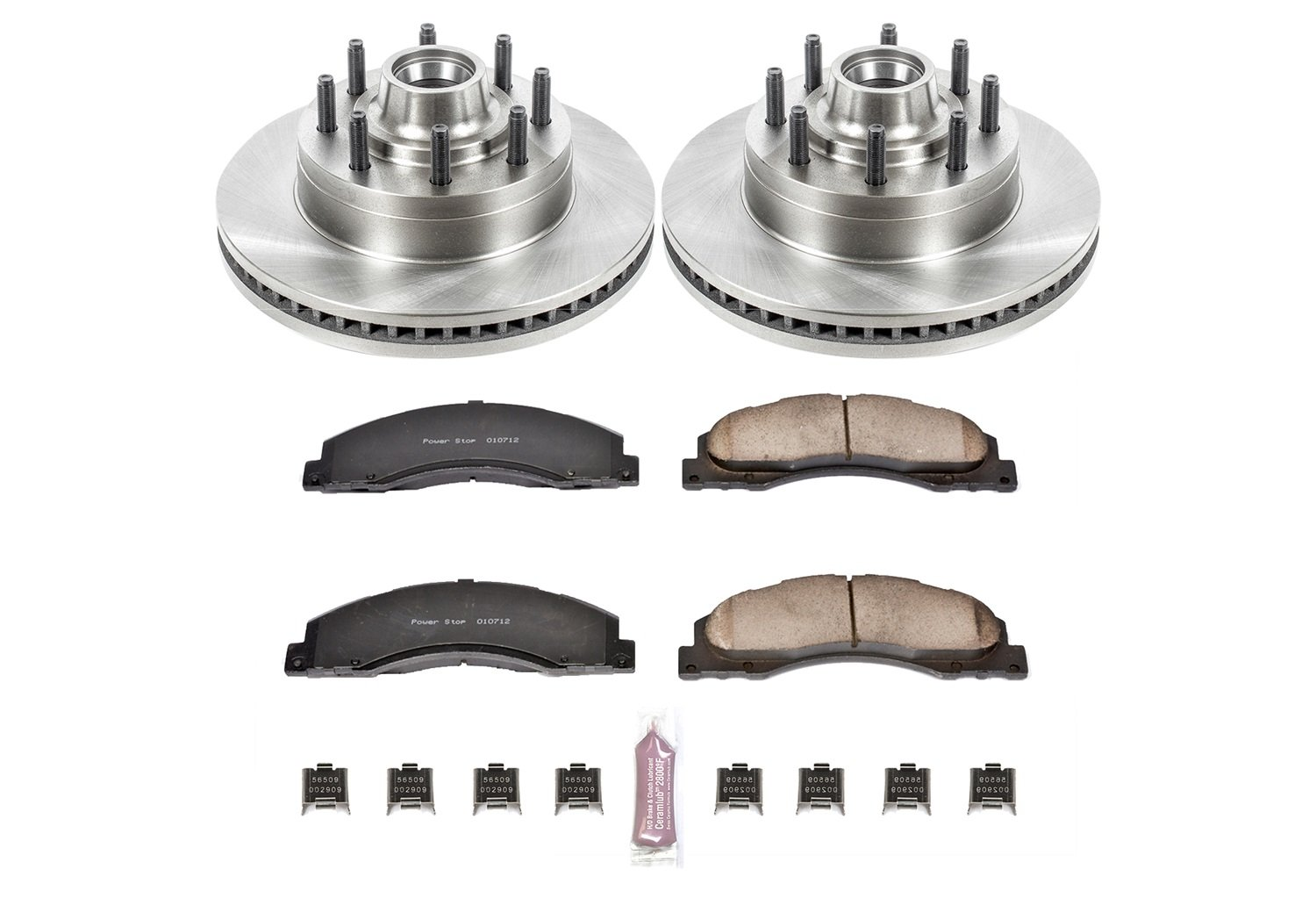 Autospecialty KOE4716 1-Click OE Replacement Brake Kit Power Stop
