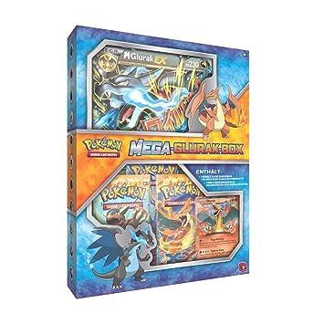 Pokemon Karten Mega Glurak Ex.Pokemon Glurak Ex Box German Version Amazon Co Uk Toys