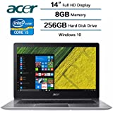 "2018 Flagship Acer Swift 3 Laptop, 14"" LED-backlit Widescreen FHD IPS Display, Intel Core i5-8250U Processor at 1.6GHz, 8 GB DDR4 SDRAM, 256 GB Solid State Drive, Windows 10 Home"