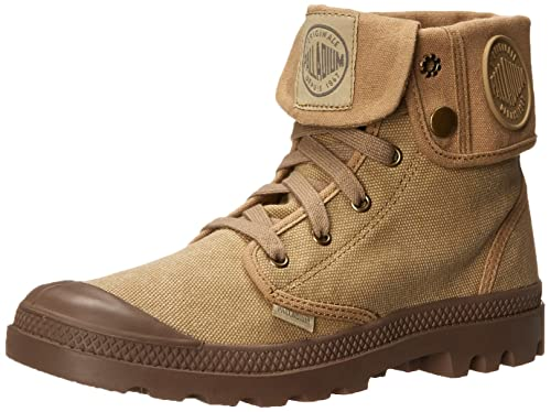 Palladium Men's Baggy Canvas Chukka Boot, Khaki/New, ...