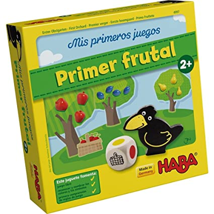 Haba Mis Juegos Primer Frutal 4997 Amazon Es Juguetes Y Juegos